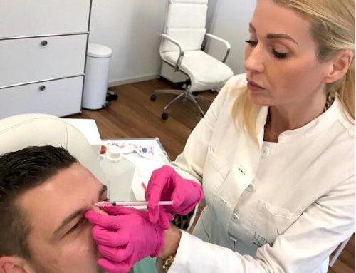Mit Botox die Zornesfalte glätten