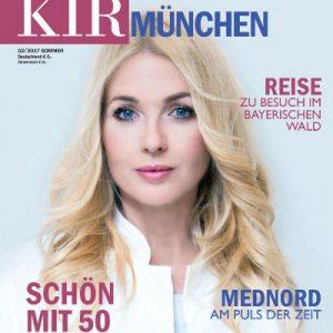 Schön mit 50 - mein Portrait im KIR München Magazin