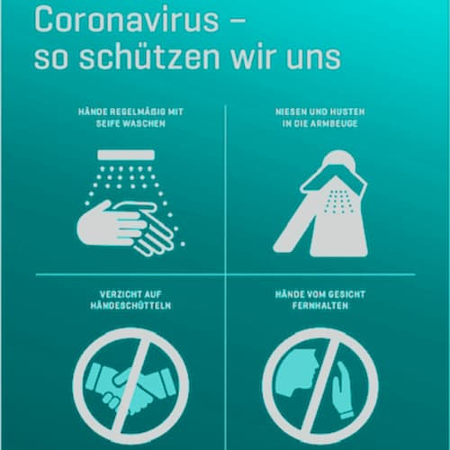 Covid19 Türaushang LIPS and SKIN Ästhetische Medizin