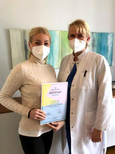 Dr, Eva Maria Strobl und Dr. Sandra Moritz